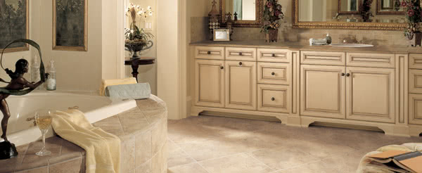 Why Tile Flooring Makes Sense for the Bathroom and Kitchen