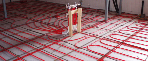 Installing Carpet Over Radiant Heat Floors