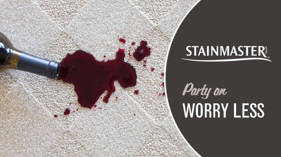 Parties and stains go together like chips and salsa.