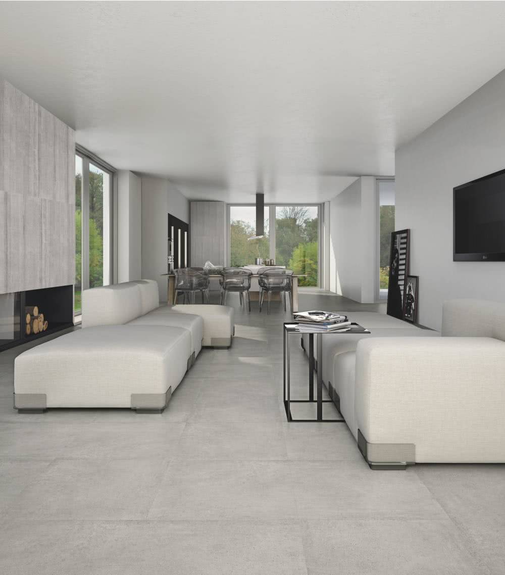 <a data-cke-saved-href='/shop/item/469/183/Cemento_Porcelain_Tile' href='/shop/item/469/183/Cemento_Porcelain_Tile' target='_blank'>Cemento</a> tiles in the latest gray colors add a touch of sophisticated modernity to your space.