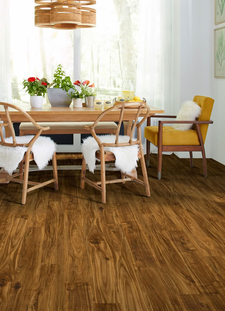 The <a data-cke-saved-href='/vinyl/brands/invincible_h20/' href='/vinyl/brands/invincible_h20/' target='_blank'>Invincible H20 collection's</a> offers stunning laminate floorings with enhanced durability.