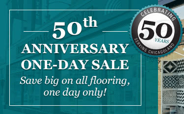 50th Anniversary One Day Sale