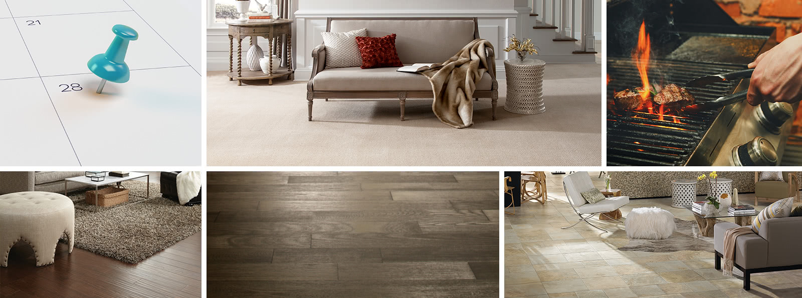 Chicago carpet, hardwood, tile, and vinyl flooring sales