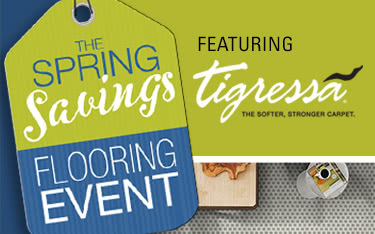 Spring Savings Flooring Event