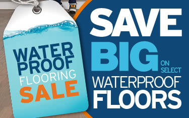 Save up to 40% on Select Waterproof Flooring
