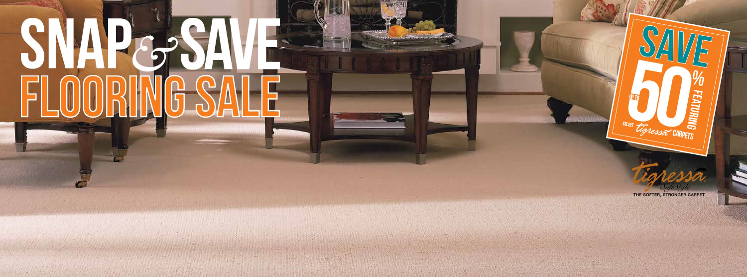Snap and Save Flooring Sale