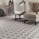 Delicate Frame Synthetic Carpet by Milliken