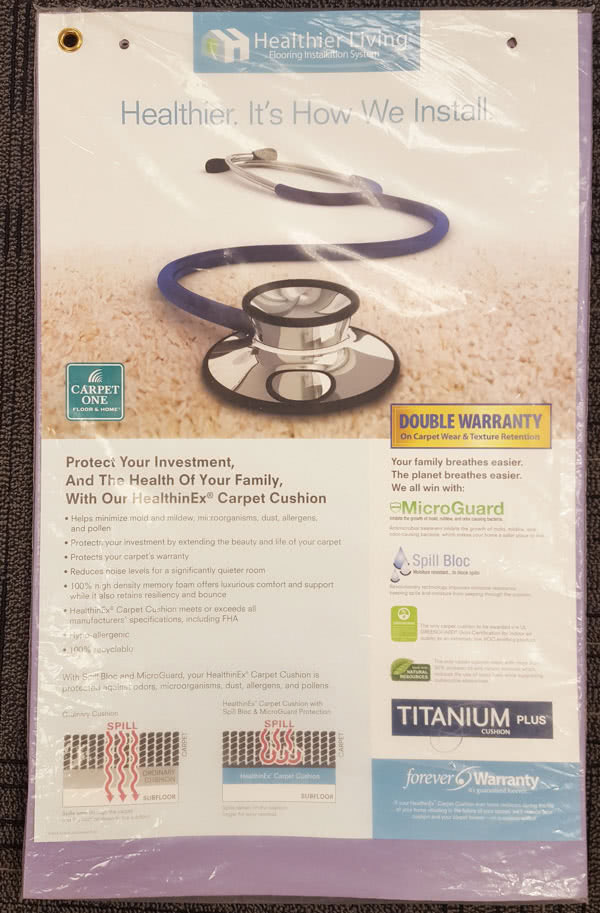 Healthinex Titanium Memory Foam Pad