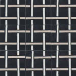 SABINE HILL WEAVE - WHITE, SAND, BLACK