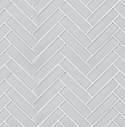 Dove Gray Mosaic Glass tile by AKDO
