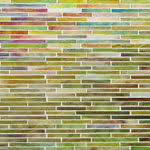 Lime-olicious mosaic glass tile by Alys Edwards
