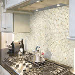 Nob Hill Mosaic Glass tile by Jeffrey Court