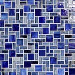 Gendai Mosaic Glass tile by Lunada Bay