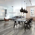 Fossil Wood porcelain tile by Eleganza