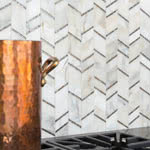 Allure Captivate stone & mosaic tile by AKDO