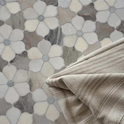 Massa Honed stone & mosaic tile by Marble Systems